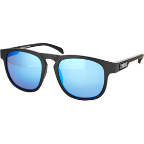 Bliz Ace Lunettes, matte rubber black/smoke/blue multi